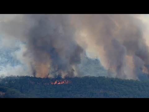 Mild conditions in SA ease fight against monster blaze in Adelaide Hills