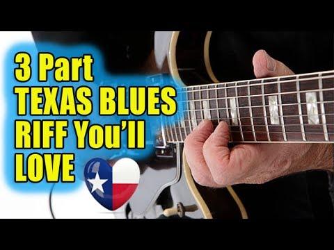 3 Part TEXAS BLUES Riff You'll LOVE