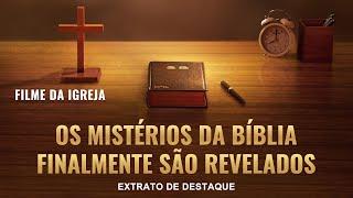 """Filme evangélico """"Divulgue o mistério da bíblia"""" Trecho 2 – Revelado: O relacionamento entre Deus e a Bíblia"""