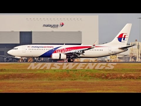 FULL ATC MH192 Malaysia Airlines Boeing 738 9M-MXJ KUL APR 20 2014