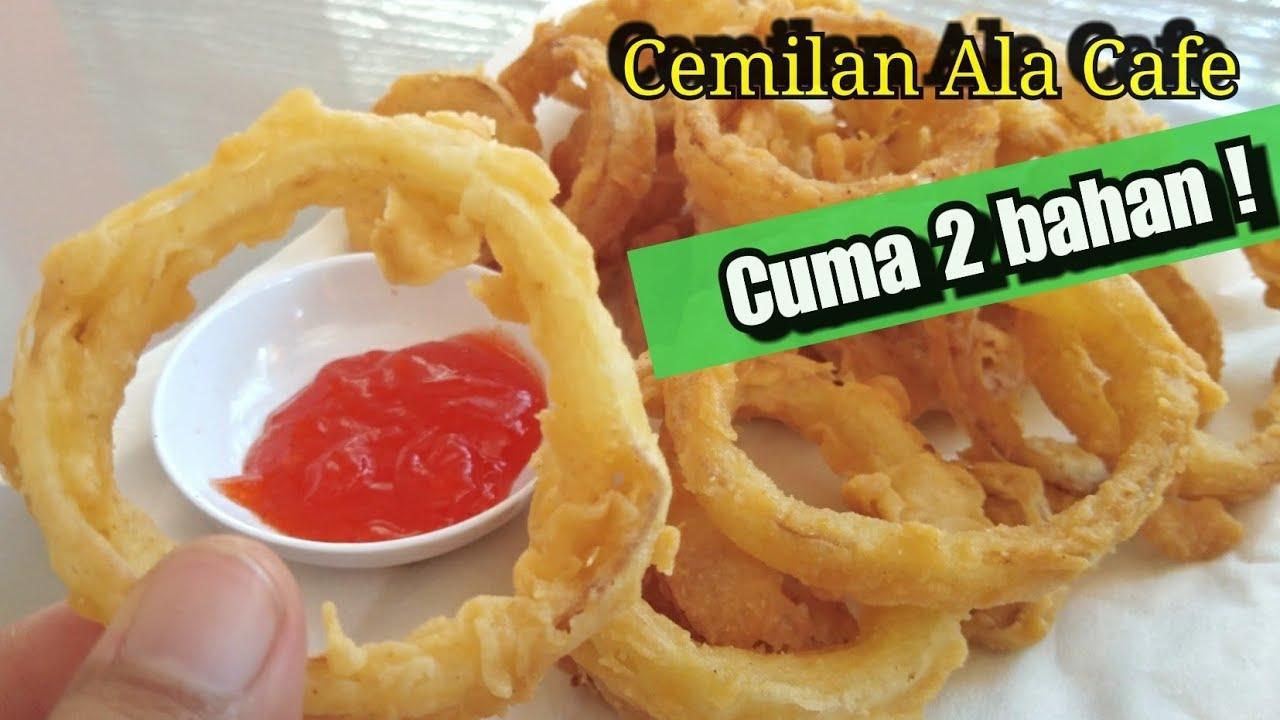 Onion Ring Cemilan Ala Cafe Cemilan Simple Cemilan Kekinian