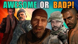 What Makes a COD Campaign SO AWESOME or SO BAD?!