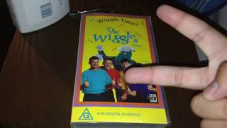 VHS Review - 1x05 - The Wiggles - Wiggle Time 1993 Australian VHS