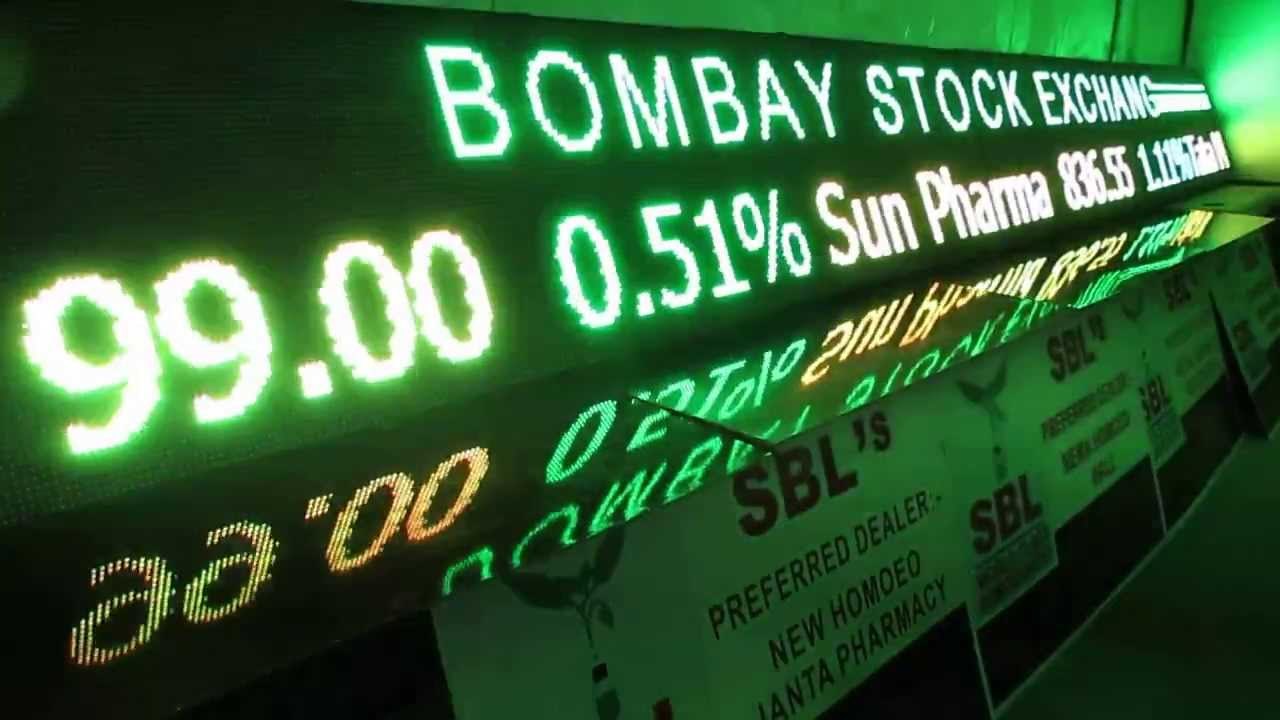 Nsc Stock Quote Led Stock Market Ticker Bse Nse Indialed Stock Ticker Tricolor