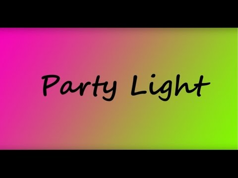 Party Lights - Color - Low speed