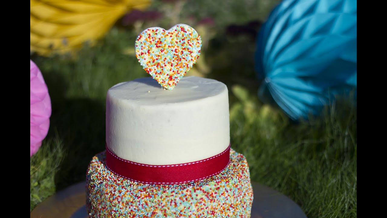 funfetti cake - gâteau confettis - youtube