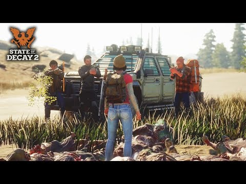 NEW Open World Multiplayer Zombie Game Looks EPIC! State of Decay 2 Gameplay Details