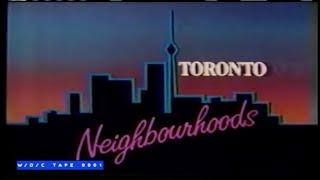 "Toronto Neighbourhoods ""Queen & Spadina with Martha Johnson"" - CBC TV - 1984"