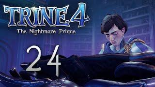Trine 4: The Nightmare Prince - Кооперативное прохождение игры - Шёлковая роща ч.2 [#24]   PC