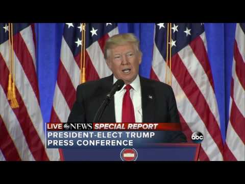 pharma gets away with murder - trump 1st press conference