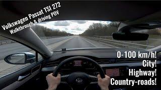 Volkswagen Passat Alltrack GTS 2020 POV - Walkthrough and driving