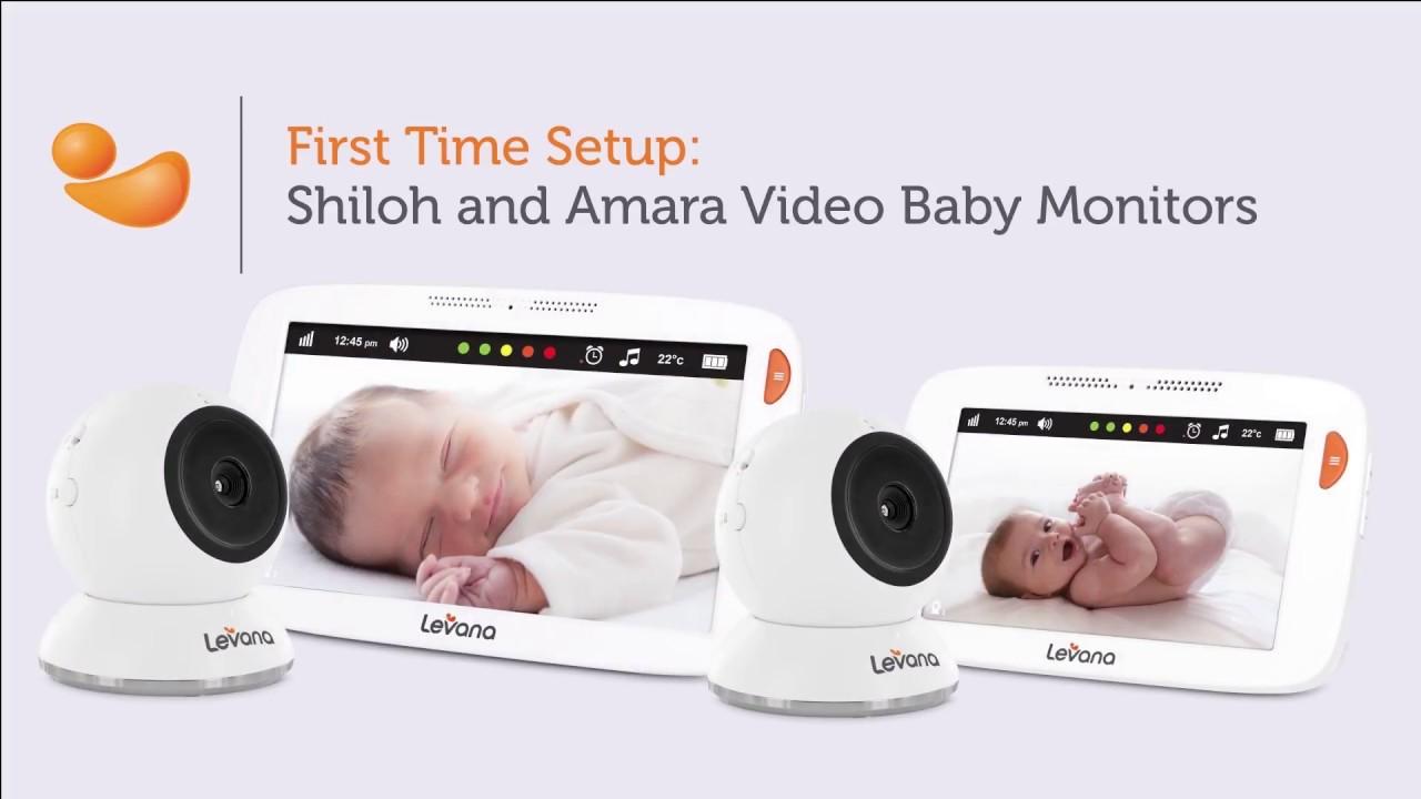 8b20b264eda Shiloh and Amara Video Baby Monitors - First Time Setup - YouTube