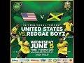 Mantap Jiwa Usa Vs Jamaica Snr Reggae Boyz June 5
