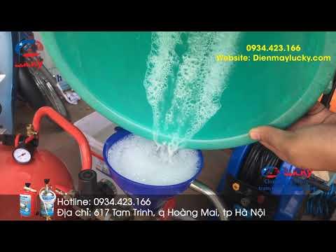 Loại Máy Rửa Xe Bọt Tuyết 99% Các Tiệm Rửa Xe đang Săn Lùng