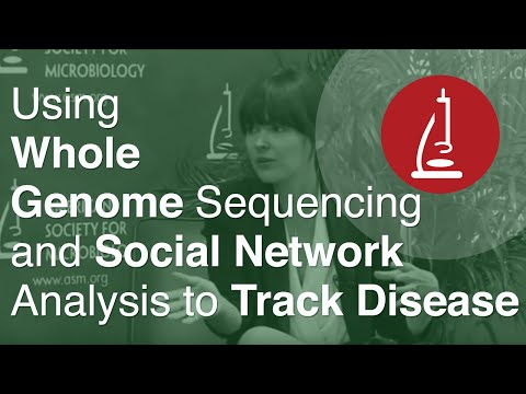 Using Whole Genome Sequencing and Social Network Analysis to Track Disease