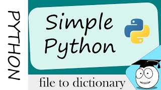 python Coder  Simple  File  Data  Dictionary