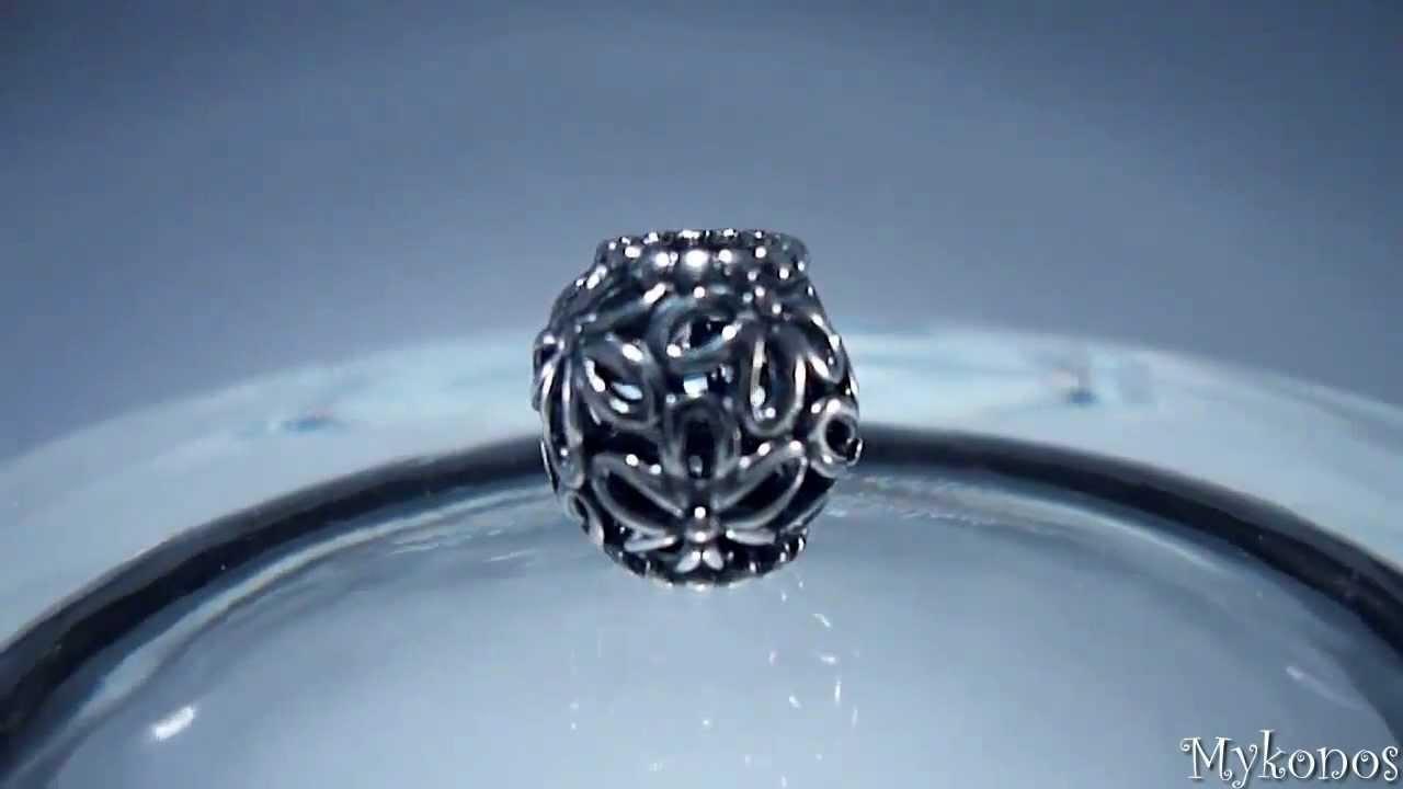 Pandora openwork flowers charm 790895 youtube youtube premium izmirmasajfo