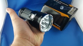 ✅ 29$ Securitying CREE led torch XM-L T6 from AliExpress.com Unboxing euro app