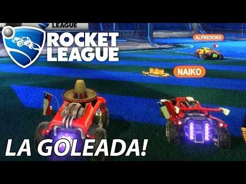 QUE GOLEADA! Rocket League en Español - GOTH