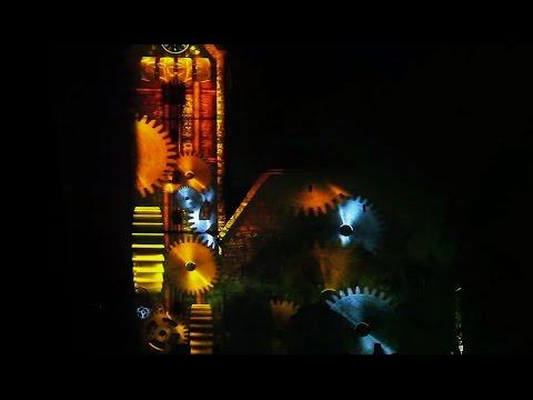 Svetlobni stolp - Light Tower 3D Video Mapping New Year's Eve 2012 Slovenj Gradec Full HD