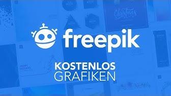 Kostenlose Grafiken durch FreePik // Tutorial (Deutsch)