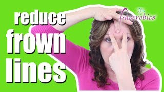 Erase Frown Lines & 11 Lines From Between Your Eyes