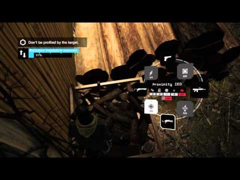 WATCH_DOGS™ Online Hacking and Hiding Spots,Random Hackness