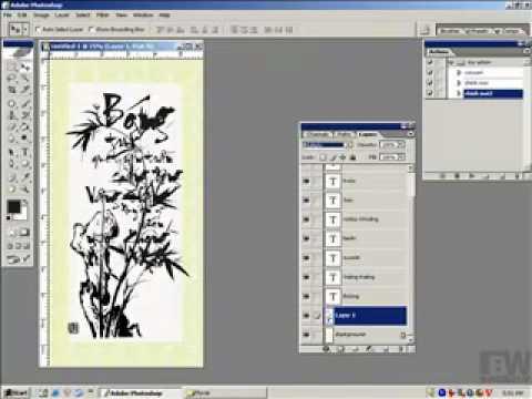 Lop thiet ke album-Thiet ke tranh thu phap (2) HocPhotoshpp.Com