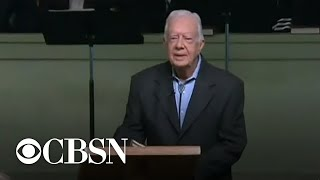 Jimmy Carter released from hospital ahead of Thanksgiving