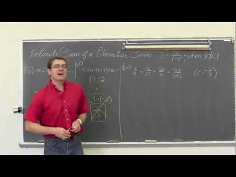 Infinite Sum Geometric Series