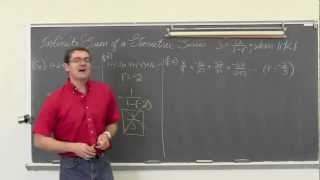 Infinite Sum Geometric Series