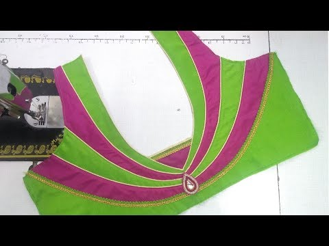 Blouse designing at home || womens fashion blouses || latest design of ladies blouses