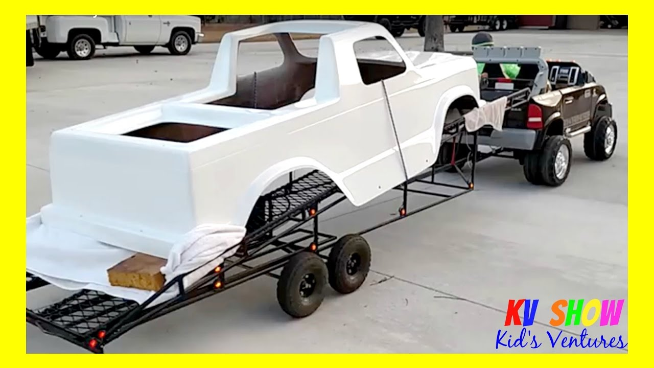 Picking Up The Mini Monster Truck Body! - YouTube