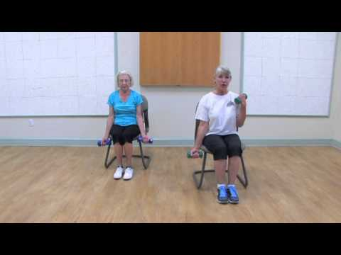 Geri-Fit strength training exercises for older adults and senior citizens