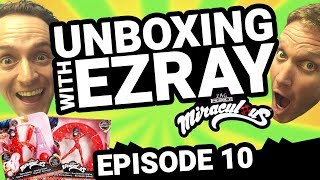 Miraculous Ladybug | #EZRAY Toy Unboxing Ep. 10 | Tales of Ladybug & Cat Noir