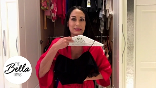 Wardrobe Malfunction! Nikki Bella Tries To Get Ready For Date Night With John Cena!