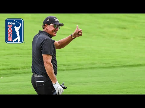 Phil Mickelson's best shots over obstacles