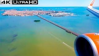 Landing Venice | AWESOME VIEWS!! | EASYJET A320