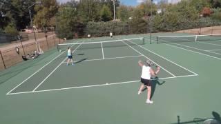 Michael Dublin Tennis Group Lesson October 16,2016 #3