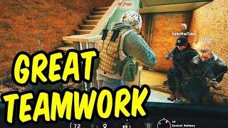 Great Teamwork! - Rainbow Six Siege Funny Moments & Epic Stuff