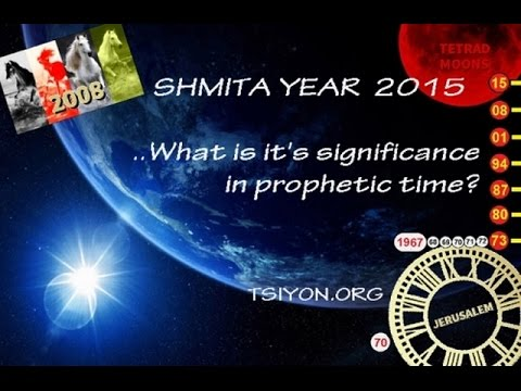 Jerusalem, Shmita 2015 and the End of the Age