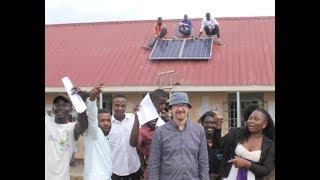 Solar power course \u0026 installation in Uganda