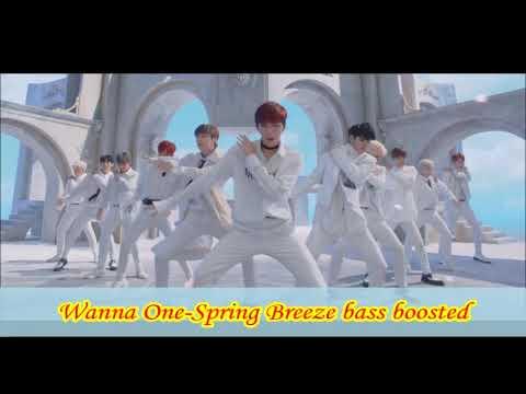 Wanna One-Spring Breeze bass boosted(Winner/Fandom name Anouncement)