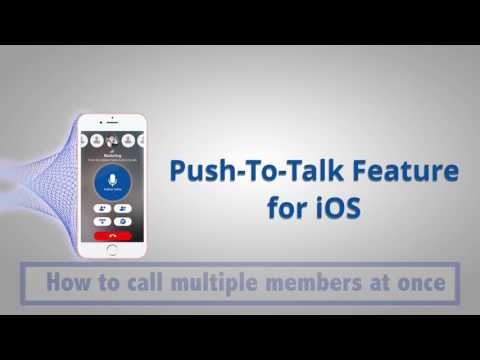 Push To Talk Feature For IOS