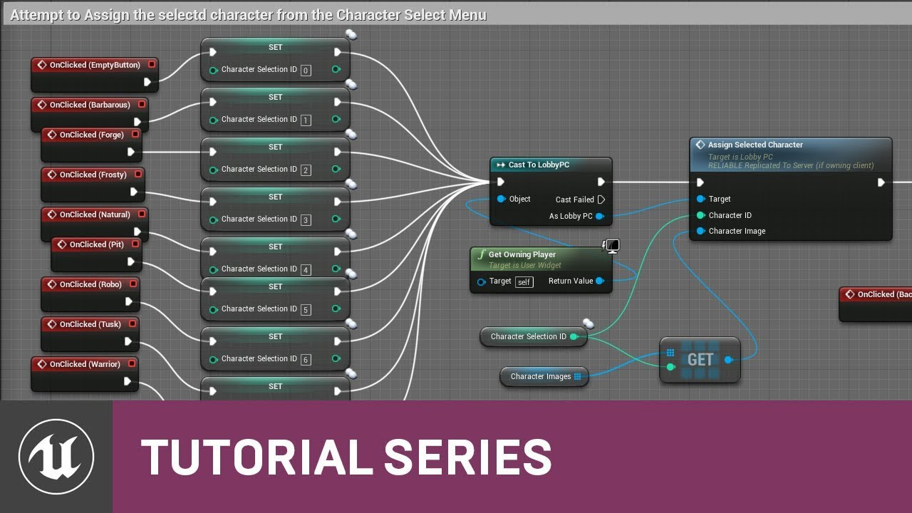 Blueprint multiplayer character select graph 21 v411 tutorial blueprint multiplayer character select graph 21 v411 tutorial series unreal engine malvernweather Choice Image