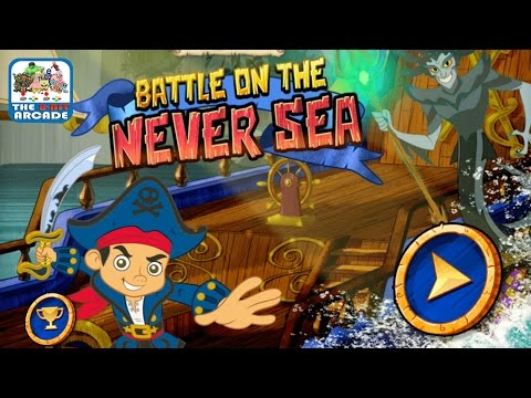 Captain Jake And The Never Land Pirates: Battle On The Never Sea (Disney Junior Games)