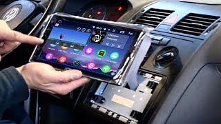 8 ZOLL Androidradio 8.0 von JOYING 2DIN androidradio Navi Freisprecheinrichtung unboxing und einbau