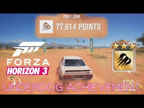 Forza Horizon 3 - Underdog Achievement Guide - 3 Stars in a C Class Car