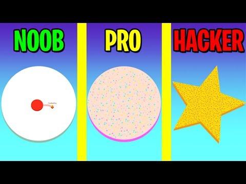 NOOB vs PRO vs HACKER in PAPER.IO 2!