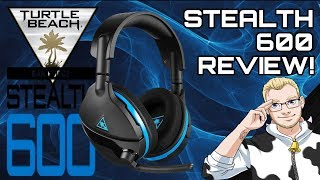 Turtle Beach Stealth 600 Headset for PS4 Review! LEK's Tech!